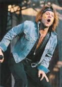 Bon Jovi - 'Jon Hand on Knee' Postcard